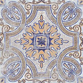 Mediterranean Porcelain Tile Color 21 Size 7 87x7 87in